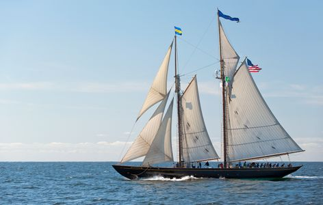 Schooner Virginia art print photo