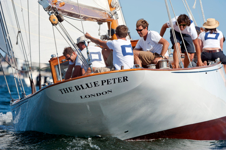 The Classic Mylne Design - The Blue Peter at the Museum of Yachting - IYRS Regatta in Newport, RI