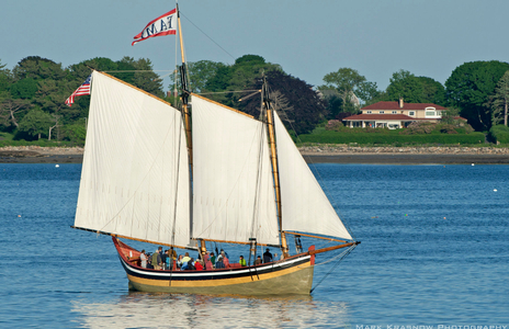 Schooner Fame of Salem, MA in Gloucester, MA