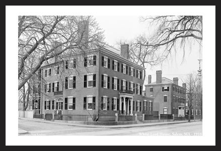 White-Lord House, Salem, MA 1910
