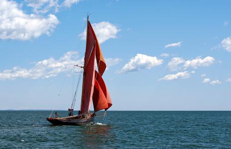 Sailboat Jolie Brise of England