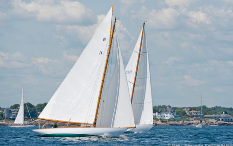Classic Yacht Cara Mia and Wester Till in Marblehead, MA