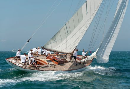 NY40 Marilee at the Opera House Cup, Nantucket,, Massachusetts