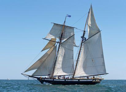 Topsail Schooner Lynx of  Nantucket, MA