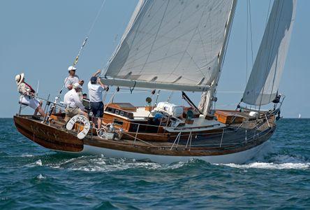 Yacht Fancy in Nantucket
