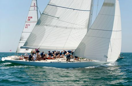 Weatherly - 12 Metrre Yacht at the Opera House Cup 2015 Nantucket, MA