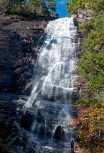 Arethusa Falls in the White Mountains of New Hampshire