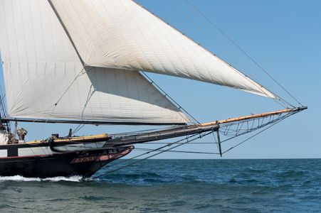 Schooner Lynx at the Opera House Cup