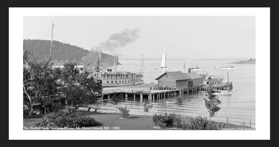The Harbor from Newport House - Mount Desert Island, ME - 1901