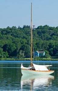 Classic Wooden Boat at Mystic Seaport  in Mystic, CT