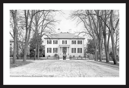 Governor's Mansion, Richmond, Va 1905