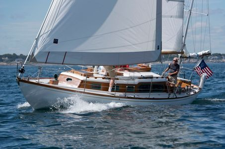 Stormbird at the Corinthian Classic Regatta - Marblehead, MA