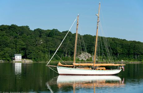 Charlotte Morning Mooring at Mystic Seaport in Mystic, CT