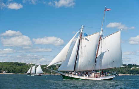 Schooner Liberty Clipper of Boston in Gloucester