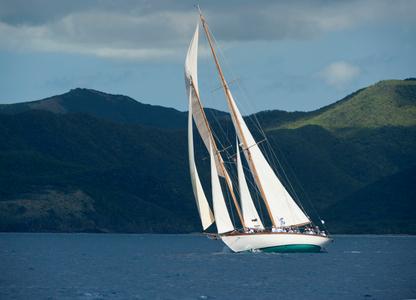 Herreshoff Classic Schooner Mary Rose in Antigua