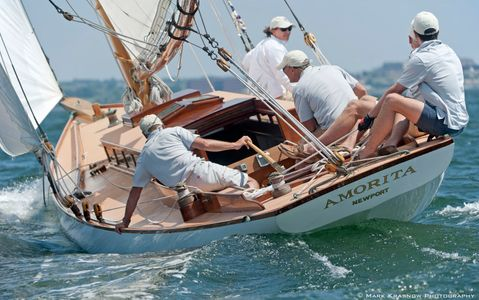 NY 30 Amorita at the NYYC 161st Annual Regatta