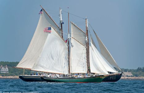 Schooner Adventure and Schooner Thomas E. Lannon