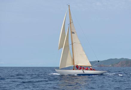 Seefalke II in Antigua