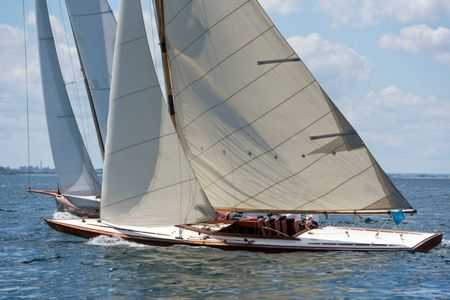 Classic Tilly XV Racing in Marblehead, MA