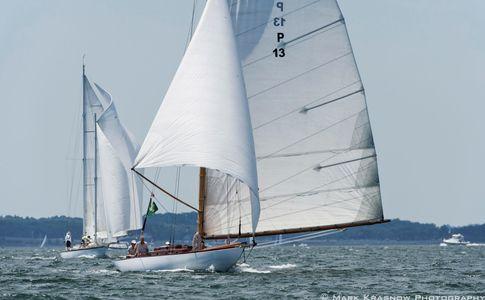 Chips - 50 Foot P-Class Starling Burgess Design Racing in Newport, RI