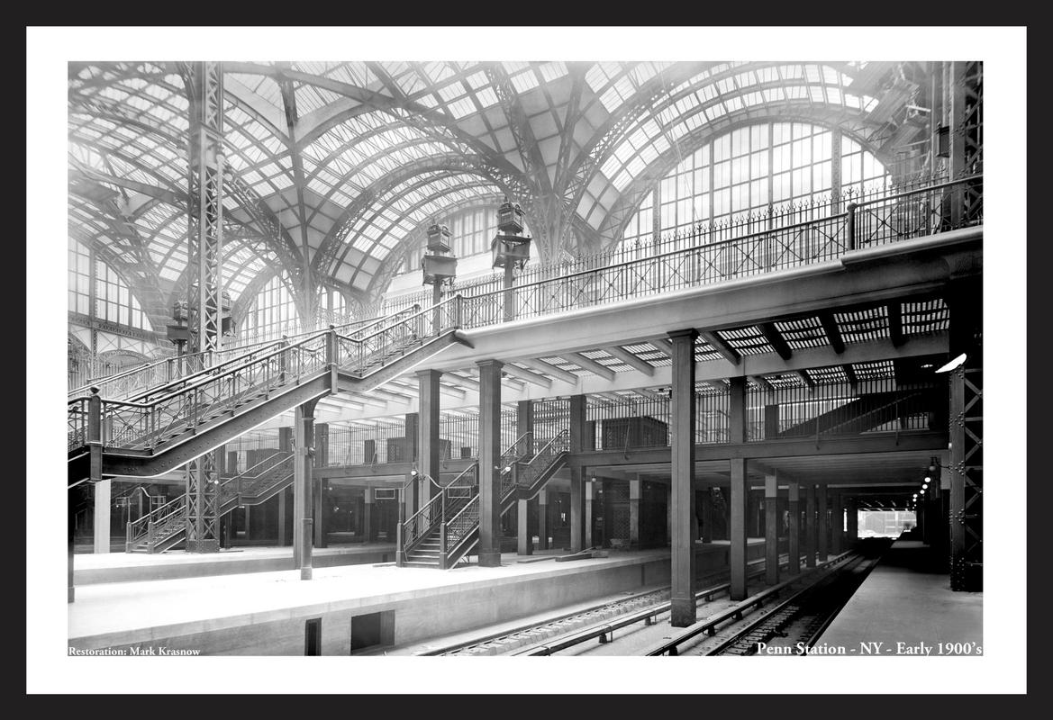 Penn Station - New York - Early 1900s