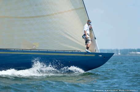 12 Metre Victory '83 Racing in Newport, RI