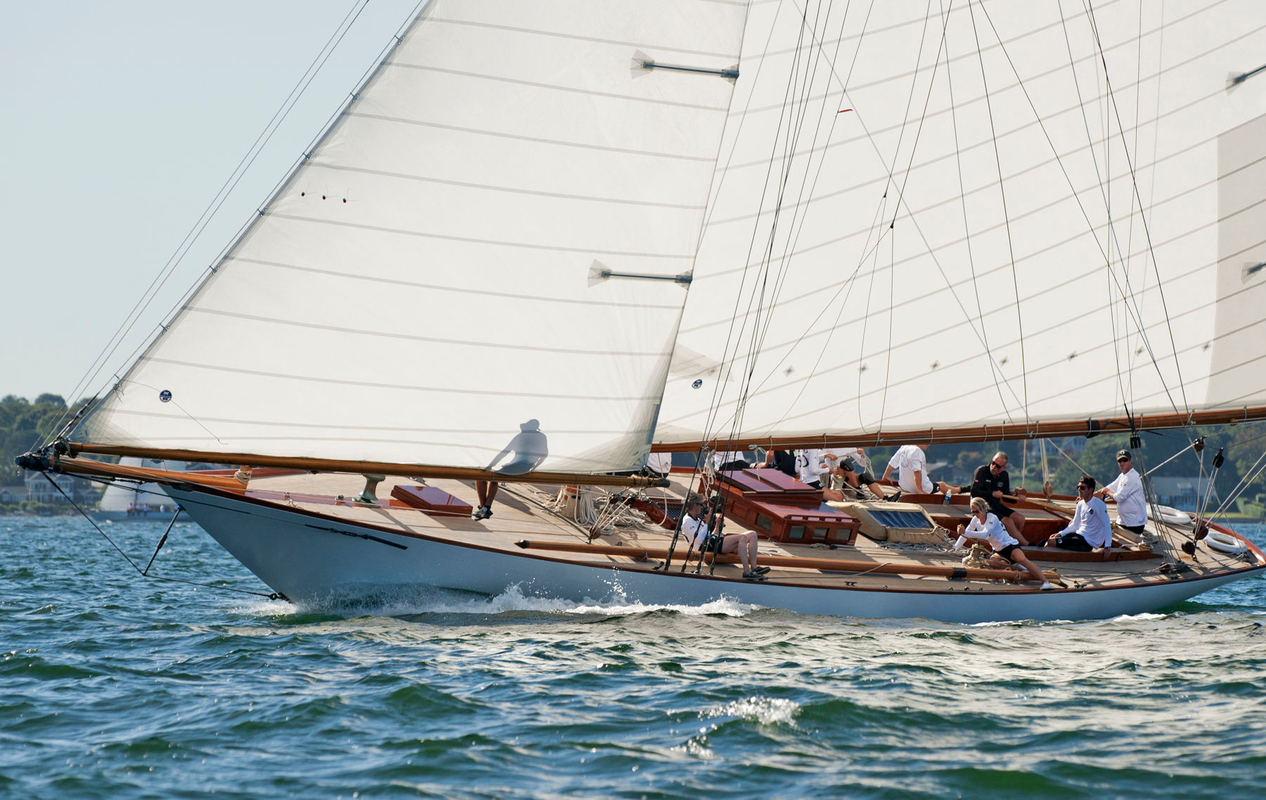 Marilee at the Museum of Yachting - IYRS Classic Regatta in Newport, Rhode Island - 2015