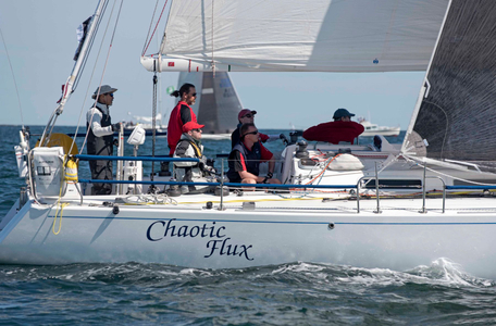 Chaotic Flux at the Newport to Bermuda Start 2016