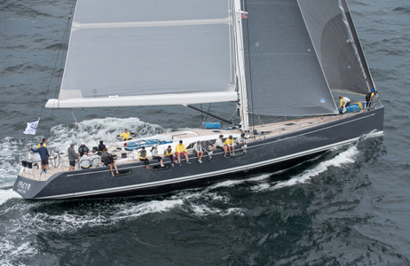 Superyacht Freya at the Candy Store Cup Newport, RI
