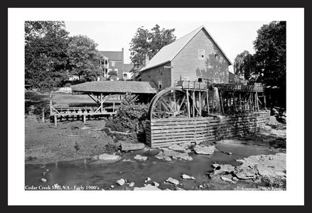 Cedar Creek Mill, VA - Early 1900s