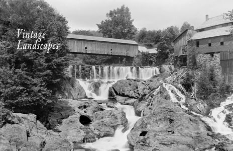 Brockway Gorge in Vermont Early 1900's.jpg