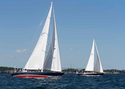 Cay II at the Newport to Bermuda Start 2016