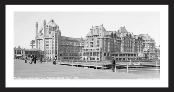 Marlborough-Blenheim Hotel, Atlantic City, NJ, Early 1900's
