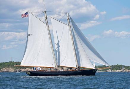 Schooner America at the Newport to Bermuda Start 2016