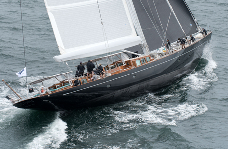 Superyacht Action at the Candy Store Cup Newport, RI