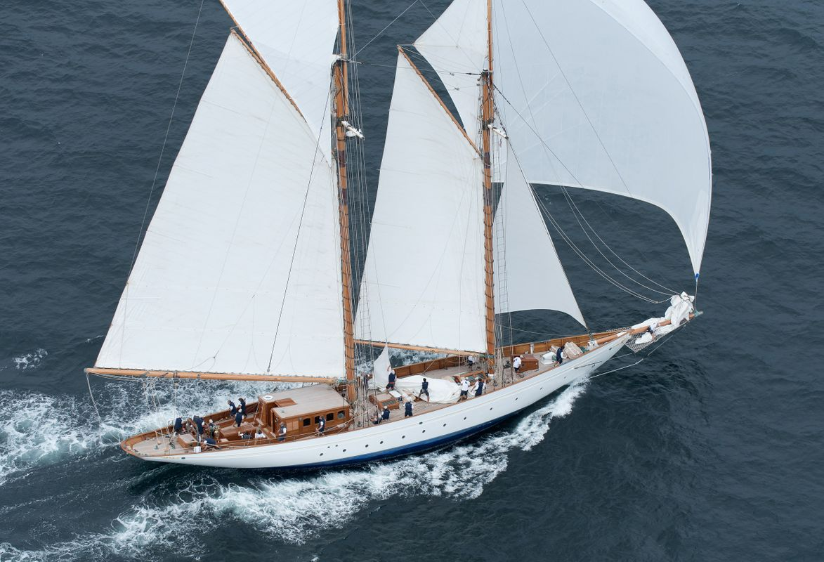 Schooner Naema at the Candy Store Cup 2017 - Newport, RI
