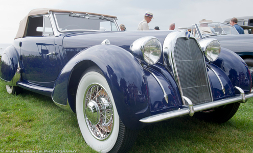 Talbot Lago Car at Misselwood Beverly, MA