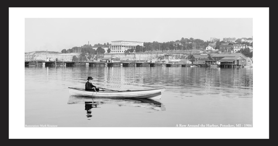 Rowing in Petoskey, MI -1906