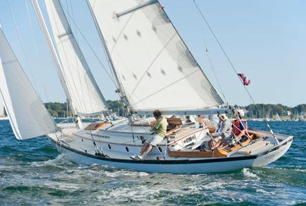 Fortune at the Museum of Yachting - IYRS Regatta in Newport, RI