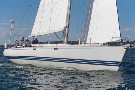 Nix at the Newport to Bermuda Start 2016
