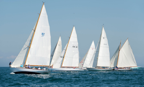 Class Start at the Opera House Cup in Nantucket