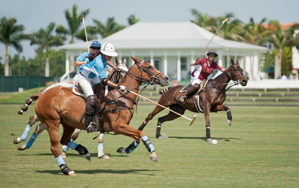 Polo Match Women's Final in Wellington, Forida