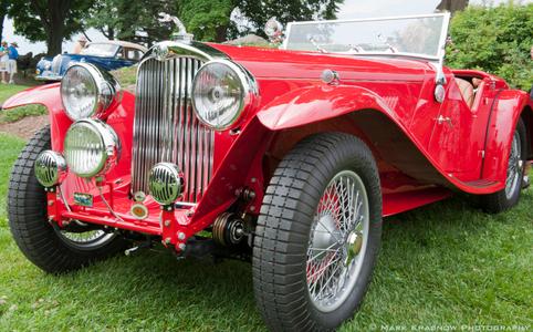 Classic MG Convertible