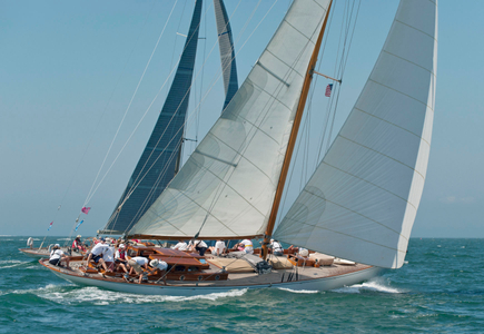 The Blue Peter Yacht at the Opera House Cup, Nantucket, MA 2015