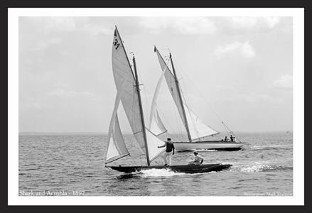 Vintage Sailing art prints for home and office