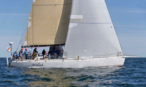 Brigand at the Newport to Bermuda Start 2016