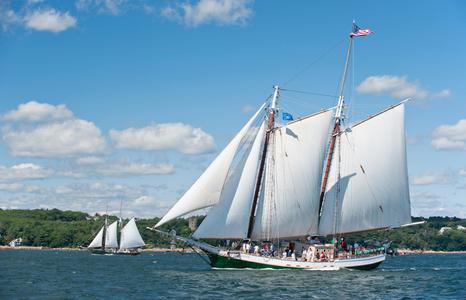 Schooner Liberty Clipper of Boston in Gloucester