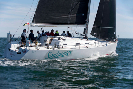 Soulmates at the Newport to Bermuda Start 2016