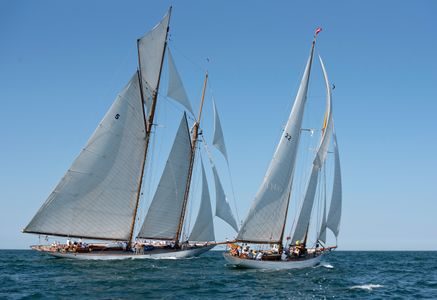 Schooners Eleonora and Billiant at the Opera House Cup