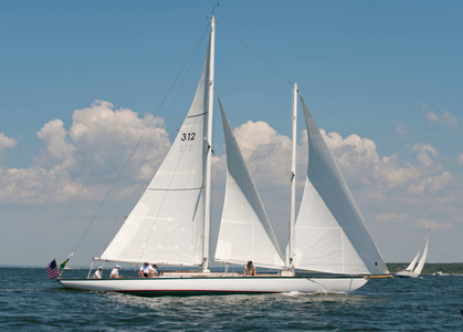 Schooner Fortune Racing in Newport, RI